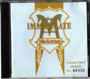 THE IMMACULATE COLLECTION - AUSTRALIA (TOUR EDITION) GOLD CD